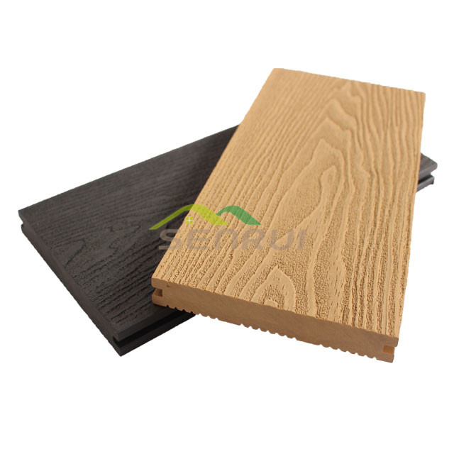 3D-embossing/wood grain decking